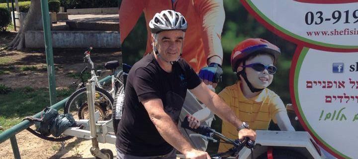 לימוד רכיבה על אופניים למבוגרים